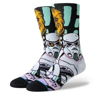 Stance Star Wars Warped Chewy Adult L (9-12) Socks